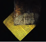 تصویر 8 لوح سیمین و زرین داریوش  کشف شده از پایه های کاخ تخت جمشید  به سه خط میخی ایلامی،بابلی و پارسی در  موزه ایران باستان، تهران