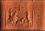اثر مهر استوانهای داریوش  به سه ذبیرۀ: میخی ایلامی، بابلی و پارسی